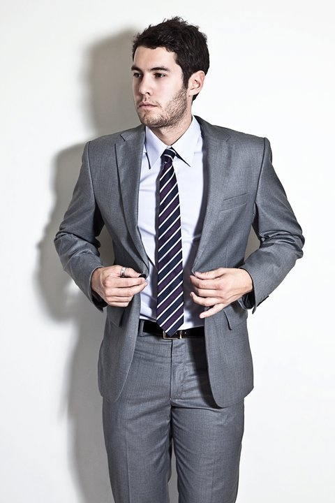 Suitco Slim Shirt- $99.99  Suitco Slim Tie- $59.99  Suitco Belt- $59.99  Grey Slim Suit- $399.99  WINTER STYLE