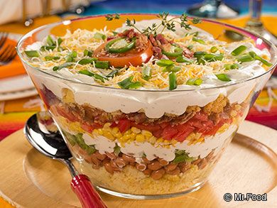 """Mexican Corn Bread Salad 