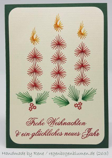 fadengrafik gru karten set 263 weihnachten fadengrafik. Black Bedroom Furniture Sets. Home Design Ideas