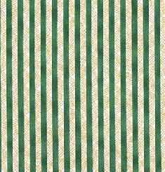 Debbie Mumm-hatch stripe tan/green