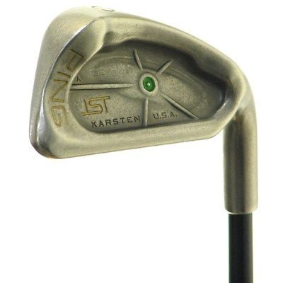 Ping Golf Clubs Isi Nickel 2-9 Iron Set Stiff Steel Value 1.00 inch White Dot