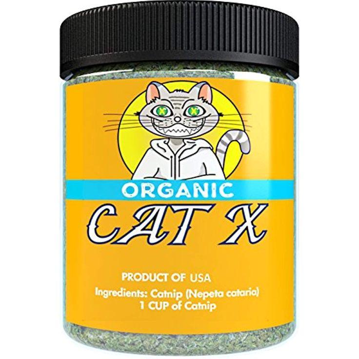Organic Catnip by Cat X, Premium Safe Blend Perfect for