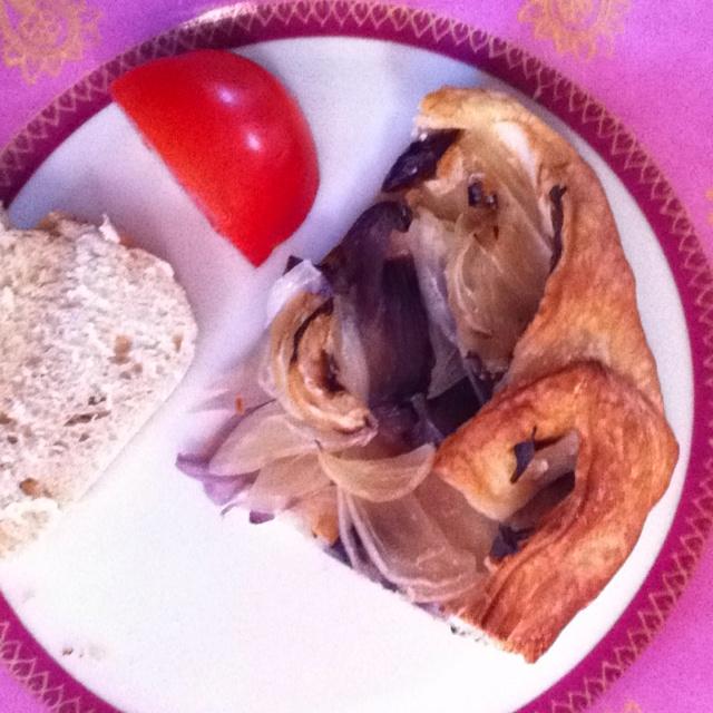 Onion pie...