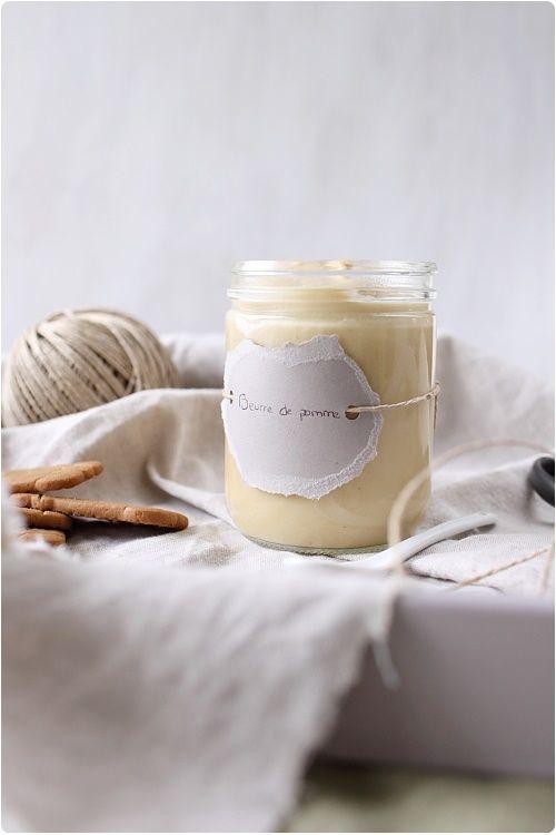 Beurre de pomme : une idée qui m'intrigue et me donne envie de goûter.