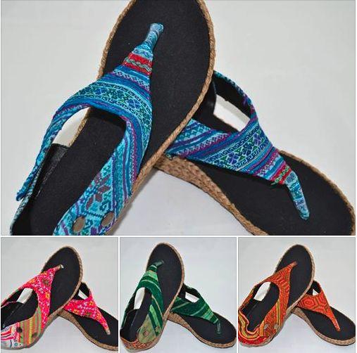 Sandale unicat cu parfum etnic-hippie <3 www.hainehippie.ro