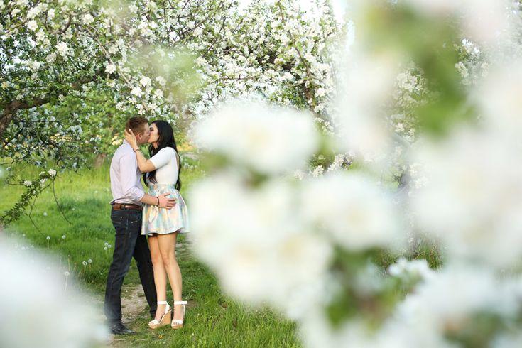 Apple Orchard in Spring - Kelowna Weddings!