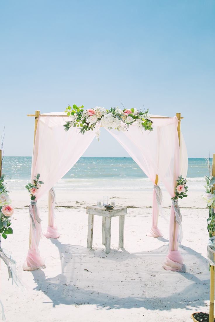 Let Us Create Your Dream Florida Beach Wedding Or Elopement In St Pete Clearwater Sarasota And Tampa Bay Area Tie The Knot Seaside