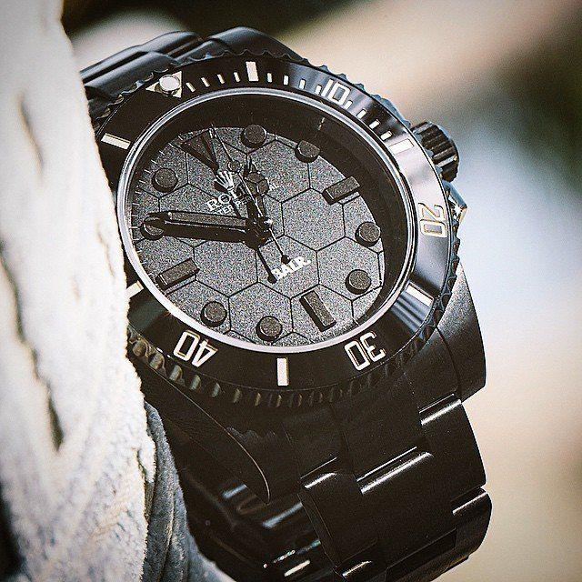 Balr x Titan Black Rolex Submariner Kleren