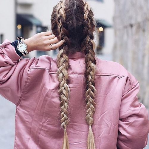 Une coiffure tendance, les boxer braids #boxerbraids #cornows #cheveux #tresse #monvanityideal