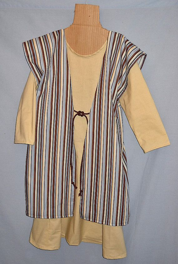 Size 6 Kid's Christmas Nativity Play Costume Shepherd or Joseph