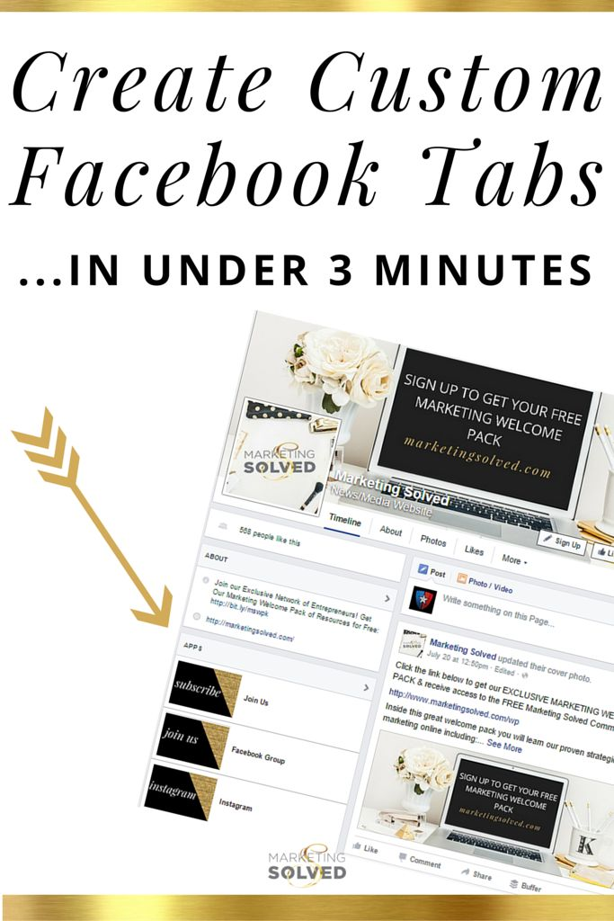 Learn how to create custom facebook tabs in under 3 minutes. Video tutorial and quick tip sheet
