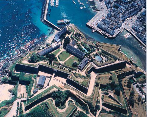 La citadelle Vauban, au Palais (Belle-Isle en mer)