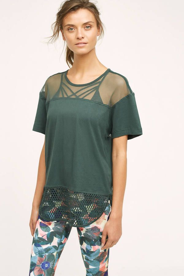 Adidas By Stella Mccartney Adidas by Stella McCartney Mesh Tee