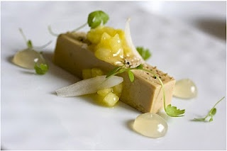 Eleven Madison Park Fois Gras Terrine with Pineapple and Pearl Onions