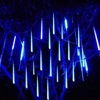 2016 30 50 CM di meteora Pioggia Tubo Guirlande Led per esterni Ghirlanda Decorazione di Cerimonia Nuziale Leggiadramente Dell'albero Di Natale Del Festone di Luci Luces