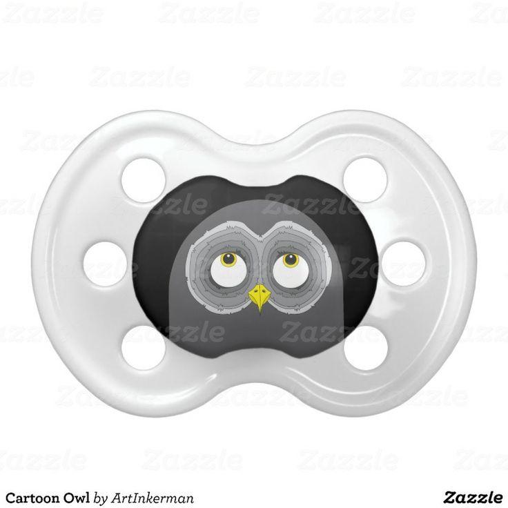 Cartoon Owl Pacifier