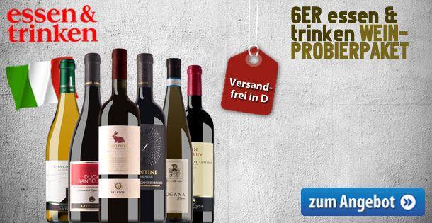 """essen&trinken Italien-Probierpaket """"Zum Wegträumen"""" - http://weinblog.belvini.de/essen-und-trinken-italien-paket"""