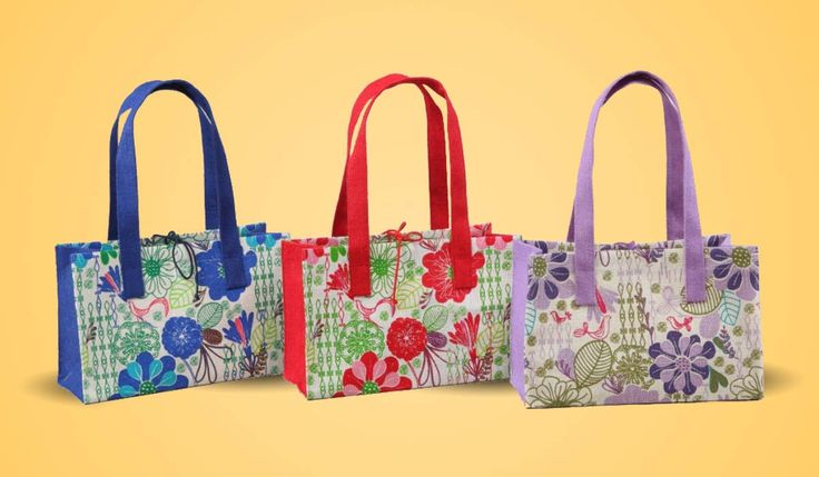Flower prints are in! Carry an eden for all your extra needs!