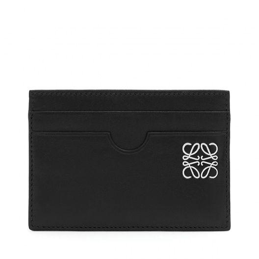 ロエベ Card Holders - PLAIN CARD HOLDER - ブラック