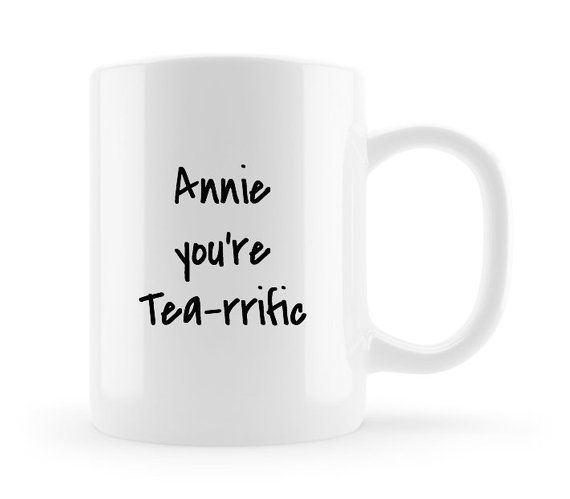5d44711257110 Personalised Tea Mug, Tea lover gifts, Custom gifts for her, Name ...