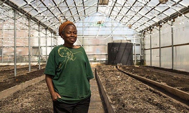 Land, Co-ops, Compost: A Local Food Economy Emerges in Boston's Poorest Neighborhoods   From kitchens that buy and sell locally grown food, to a waste co-op that will return compost to the land, new enterprises are building an integrated food network. It's about local people keeping the wealth of their land at home.