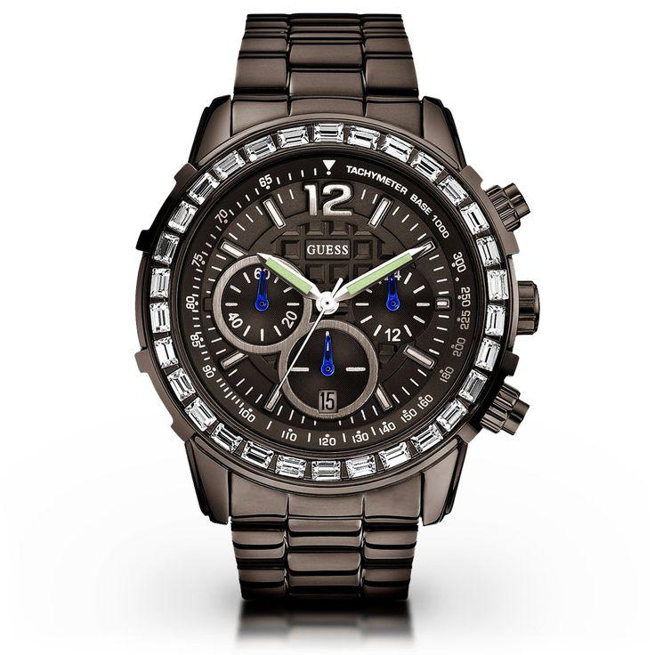 Guess Damenuhr W0016L3 Fashion Chronograph