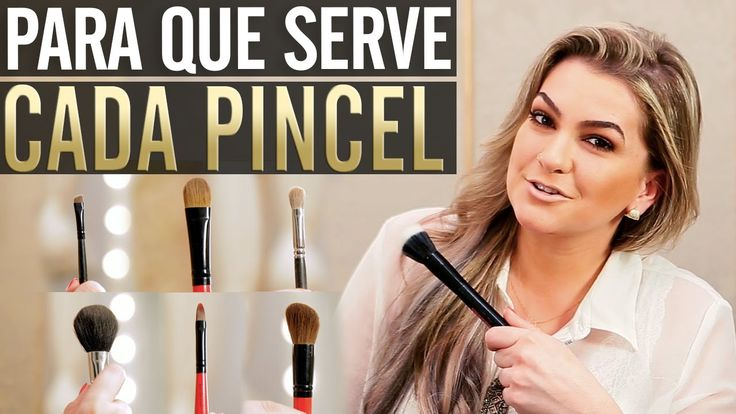 Para Que Serve Cada Pincel com Alice Salazar - Canal TOP