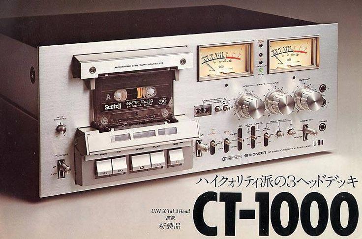Pioneer CT1000