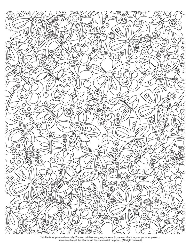 Happy Coloring Monday Click Here To Download Your Page Valentinadesign