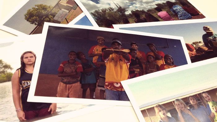 We often get sent videos from kids around Australia showing us what their lives are like. But recently we got a batch that were a little different. They were video postcards sent from kids in and around Tennant Creek an area pretty close to the centre of Australia. They're pretty fun so we thought you'd love to see them.