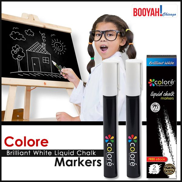 #GenuineImportedProductsDirectFromUSA Only at Booyahchicago.com MARK WITH MORE PRECISION USING COLOR CHALK MARKER : http://tinyurl.com/y8fqss6o #OfficeSupplies #SchoolSupplies