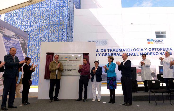 """Se inauguró en el Estado de Puebla el Hospital de Traumatología y Ortopedia """"Doctor y General Rafael Moreno Valle"""" - http://plenilunia.com/novedades-medicas/se-inauguro-en-el-estado-de-puebla-el-hospital-de-traumatologia-y-ortopedia-doctor-y-general-rafael-moreno-valle/39132/"""