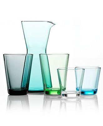 #macysdreamfund Iittala Glassware, Kartio Collection - Glassware - Dining & Entertaining - Macy's Bridal and Wedding Registry