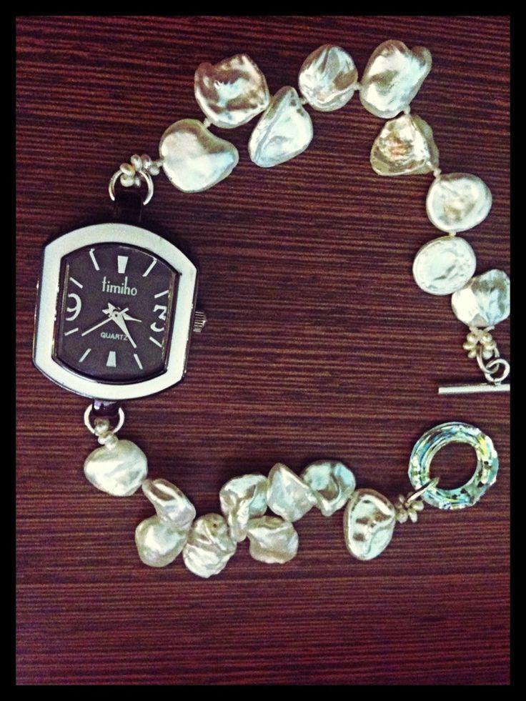 Clock pearl reloj perla