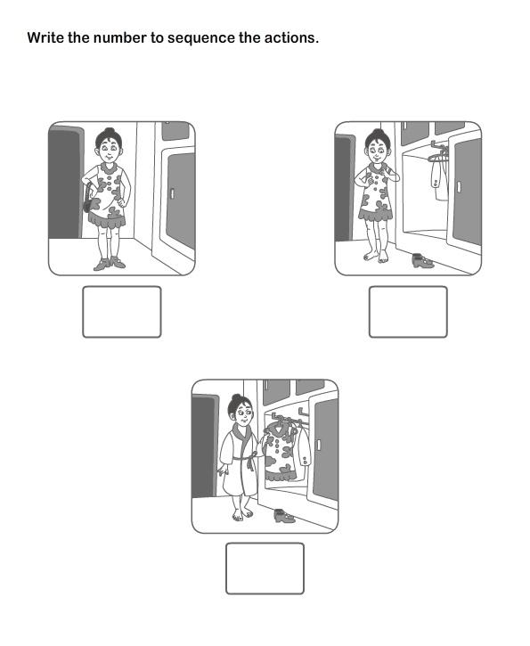 Picture Sequence Worksheet 13 - esl-efl Worksheets - kindergarten Worksheets