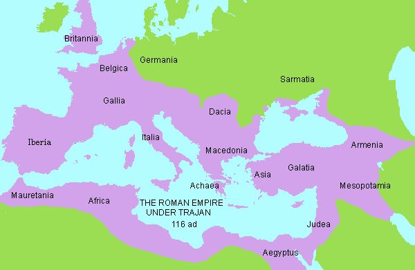 Rome was founded c. 500 bc.  By 200 bc, it ruled most Italy, and in 150 bc, it conquered Carthage, the greatest power of the western Mediterranean at the time.  By 150 bc, only three cities had over 100,000 people:  Antioch, Alexandria, and Rome.  By 44 bc, Rome would rule them all.