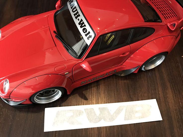 #RWB(#RAUHWeltBEGRIFF)1/18 Model Cars 遂に誕生! 実物を忠実に再現した非常にハイクオリティな仕上がりです。 kamiwaza-japan SHOP 限定 RWBステッカー付き!!! #フィギュア