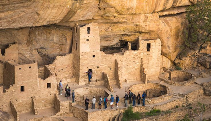 This route, from Denver south through Colorado and into NM before heading west toward the Grand Canyon, is seeped in southwestern American Indian history.