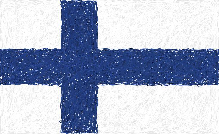 Flaga Finlandii