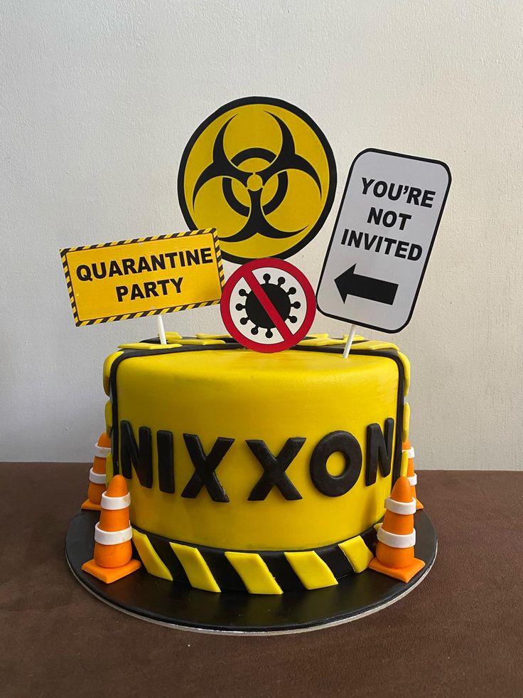 Pin on Quarantine cake