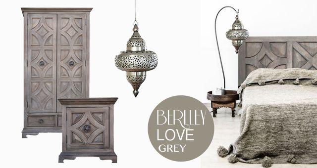 """Szarość to jeden z najbardziej uniwersalnych kolorów, rozświetla pomieszczenie i pięknie eksponuje białe, czarne i kolorowe dodatki. Kolekcja """"Berlley"""" wręcz kocha szarość, ten odcień drewna pasuje do naturalnych kolorów wełny, filcu, bawełny i juty."""