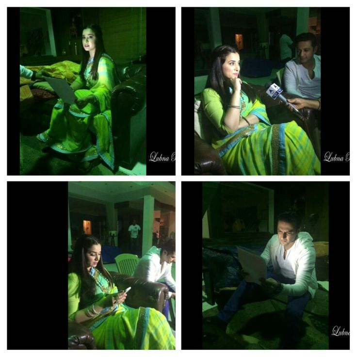 BTS with Ek Hasina Thi: Sakshi's awesome outfit and Shaurya's intense face in the last one :P