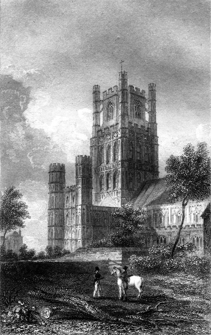 Ely-Cathedral-1830 - Kathedraal van Ely - Wikipedia