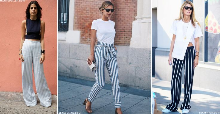 If there's ever a time to put your denim on the backburner, it's summer. Mix up your everyday staples with something more seasonal, and look no further than the striped trouser; – in light, bright white and navy, it creates the perfect nautical nod for sunny weather as well as adding interesting detail to your otherwise simple edit.