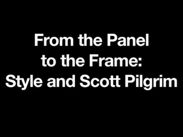 How does style link the Scott Pilgrim comics, film, and video game? This visual essay, composed by Dr. Drew Morton (Assistant Professor of Mass Communication at Texas A&M University-Texarkana), analyzes how Bryan Lee O'Malley's books were formally interpreted by director Edgar Wright and game designer Paul Robertson.