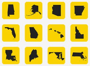 Mastery Connect has a terrific app that makes it easy to find the Common Core Standards all in one place.  They have also developed apps that are specific to individual states.  You can tap on a picture of your state and find an app that contains all of your state standards.