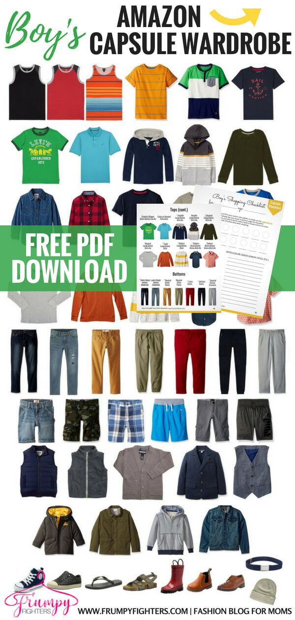 1d8a150c67bf Kid s Capsule Wardrobe Plans   Checklists + Step-by-Step on How to Simplify  Your Child s Wardrobe