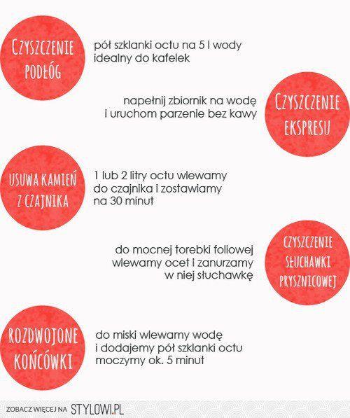 Akademia sprzątania: 10 ulubionych zastosowań octu - Ni… na Stylowi.pl
