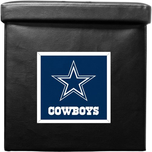 Dallas Cowboys Ottoman Foldable