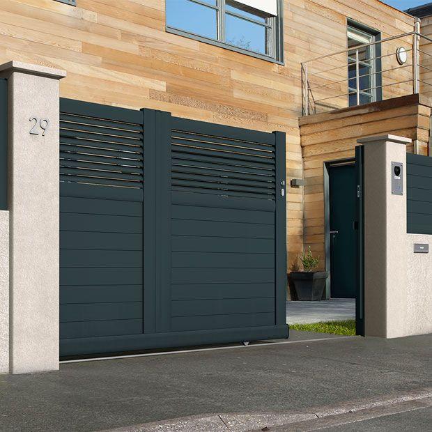 25 best ideas about portail aluminium on pinterest. Black Bedroom Furniture Sets. Home Design Ideas